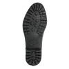 Dámské holínky s prošíváním bata, černá, 592-6401 - 19