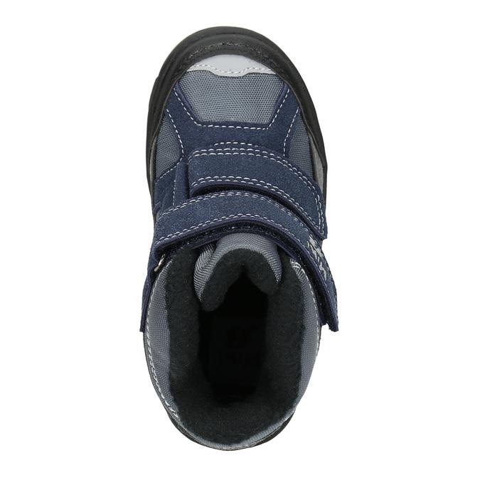 Dětské zimní boty na suché zipy mini-b, šedá, 291-2626 - 26