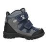 Dětské zimní boty na suché zipy mini-b, šedá, 291-2626 - 15