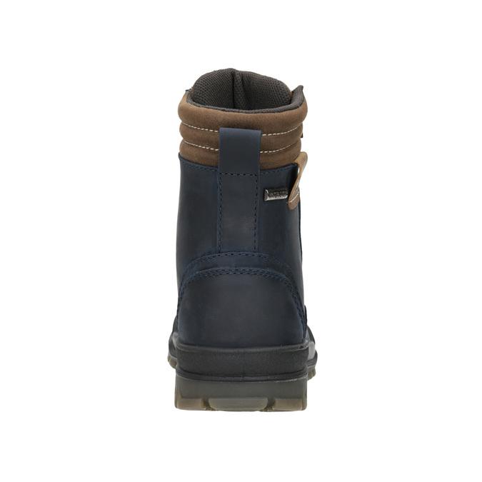 Dětská zimní obuv weinbrenner-junior, modrá, 496-9610 - 16