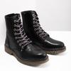 Kožená dámská kotníčková obuv bata, černá, 594-6681 - 18