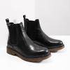 Kožená dámská Chelsea obuv bata, černá, 594-6680 - 18