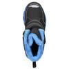 Dětská zimní obuv na suché zipy mini-b, černá, 491-6653 - 26