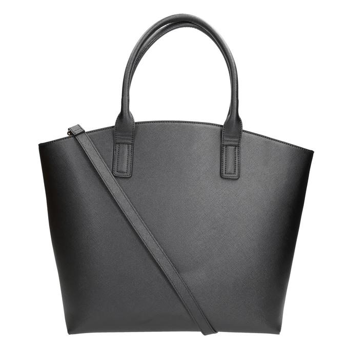 Dámská kabelka s popruhem bata, černá, 961-6821 - 26