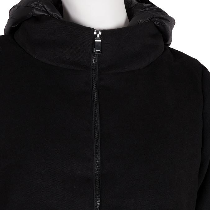 Dámská bunda s kapucí bata, černá, 979-6163 - 16