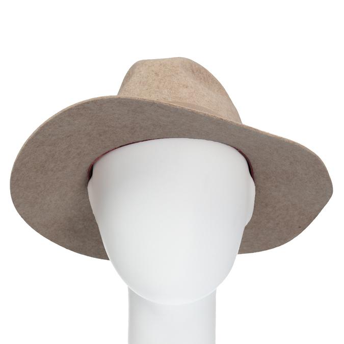 Dámský vlněný klobouk tonak, béžová, 909-8651 - 16
