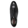 Pánské kožené Derby polobotky conhpol, černá, 824-6990 - 15