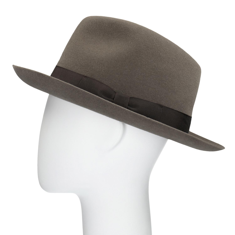 af1117c2ce4 Tonak Hnědý klobouk s mašlí - Čepice a klobouky