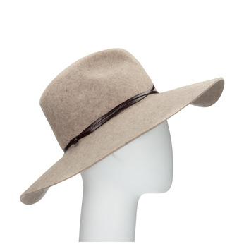 Dámský vlněný klobouk tonak, béžová, 909-8652 - 13