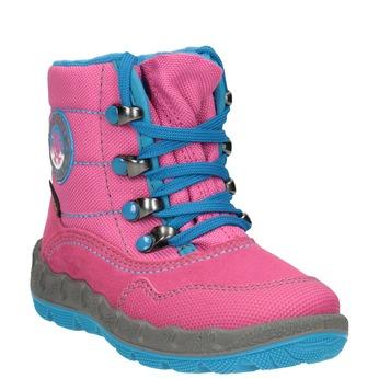 Růžová dívčí zimní obuv superfit, červená, 293-5023 - 13