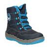 Modrá dětská zimní obuv superfit, modrá, 293-9023 - 13