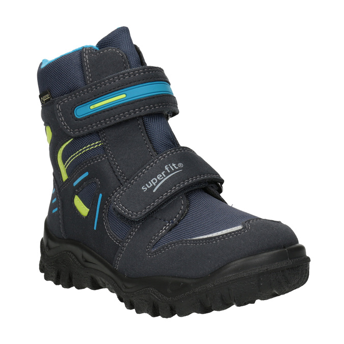 Zimní obuv na suché zipy superfit, modrá, 399-9031 - 13