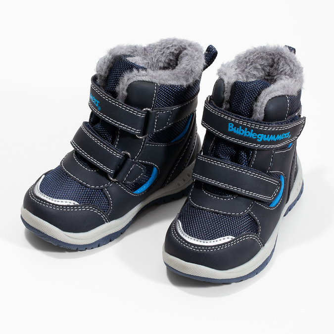 Bubblegummers Dětské zimní boty s kožíškem - Všechny chlapecké boty ... 7a80214f05