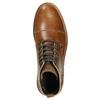 Hnědá kožená zimní obuv bata, hnědá, 896-4667 - 26