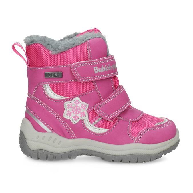 Růžové dětské sněhule bubblegummers, růžová, 199-5602 - 19
