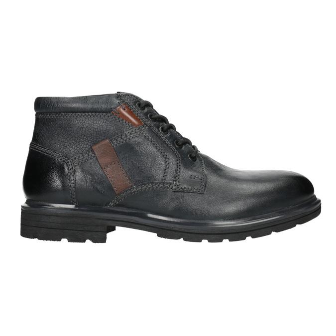 Kotníčková pánská obuv bata, modrá, 896-9682 - 26