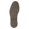 Kožená kotníčková obuv se zateplením bata, hnědá, 896-4662 - 19