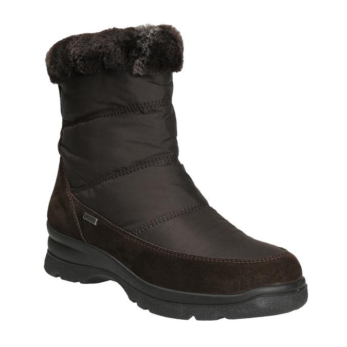 Dámské zimní boty comfit, hnědá, 599-4618 - 13