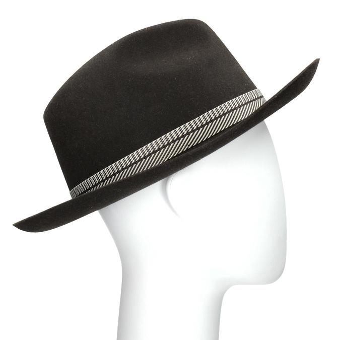 99f4f40c25e Tonak Tmavě hnědý pánský klobouk - Čepice a klobouky