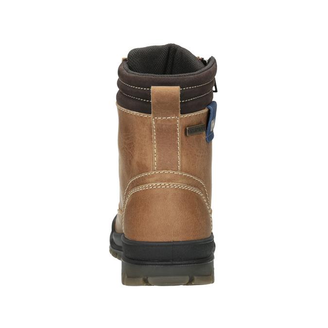 Kotníčková dětská zimní obuv weinbrenner-junior, hnědá, 496-8611 - 16