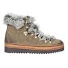 Dámská zimní obuv s kožíškem bata, hnědá, 596-3675 - 26