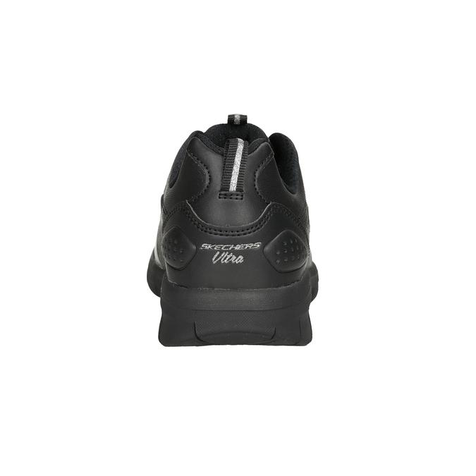 Dámské černé tenisky skechers, černá, 501-6317 - 16