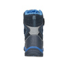 Dětská zimní obuv na suché zipy mini-b, modrá, 491-9653 - 15