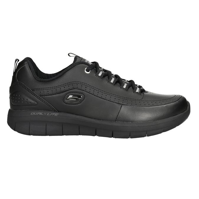 Dámské černé tenisky skechers, černá, 501-6317 - 26