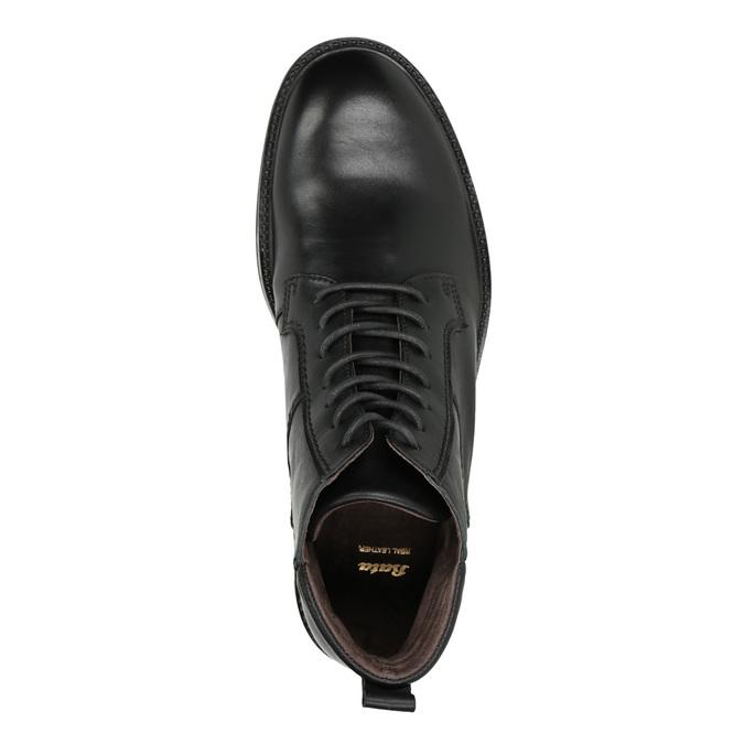 Pánská kožená obuv bata, černá, 894-6695 - 15