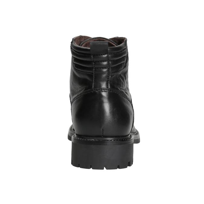 Pánská kožená obuv bata, černá, 894-6695 - 16