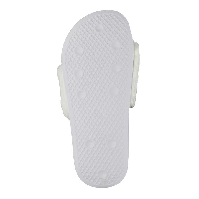 Dámské bílé pantofle north-star, bílá, 579-1624 - 17