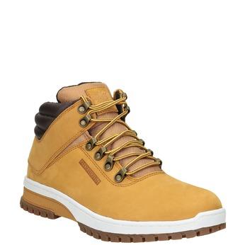 Kožená pánská zimní obuv k1x, hnědá, 806-3495 - 13