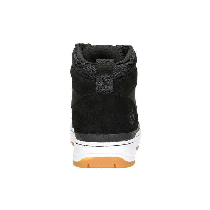 Kožená kotníčková pánská obuv k1x, černá, 806-6552 - 16