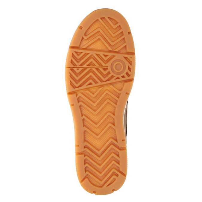 Kotníčková pánská obuv k1x, hnědá, 806-3552 - 17