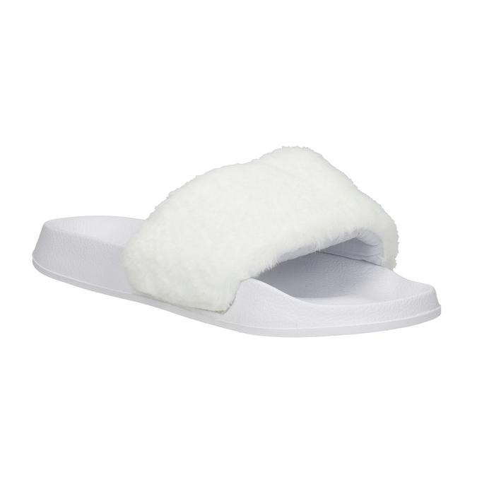 Dámské bílé pantofle north-star, bílá, 579-1624 - 13