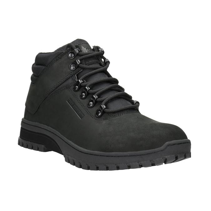 Černá pánská kotníčková obuv k1x, černá, 806-6495 - 13