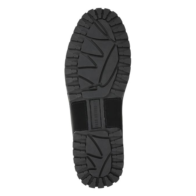 Černá pánská kotníčková obuv k1x, černá, 806-6495 - 17