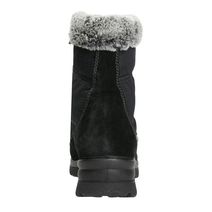 Dámské zimní sněhule comfit, černá, 599-6618 - 17