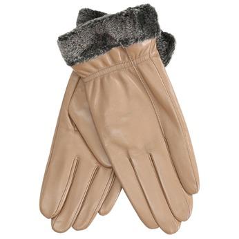 Dámské kožené rukavice béžové bata, béžová, 904-4112 - 13