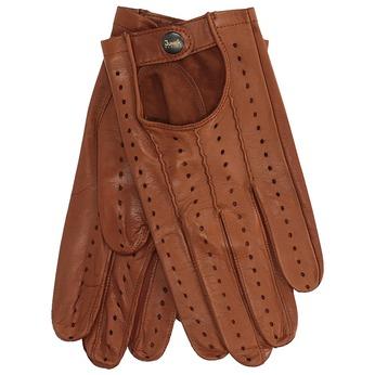 Kožené rukavice junek, hnědá, 904-3001 - 13