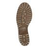Kožená zimní obuv s kožíškem bata, béžová, 696-3336 - 18