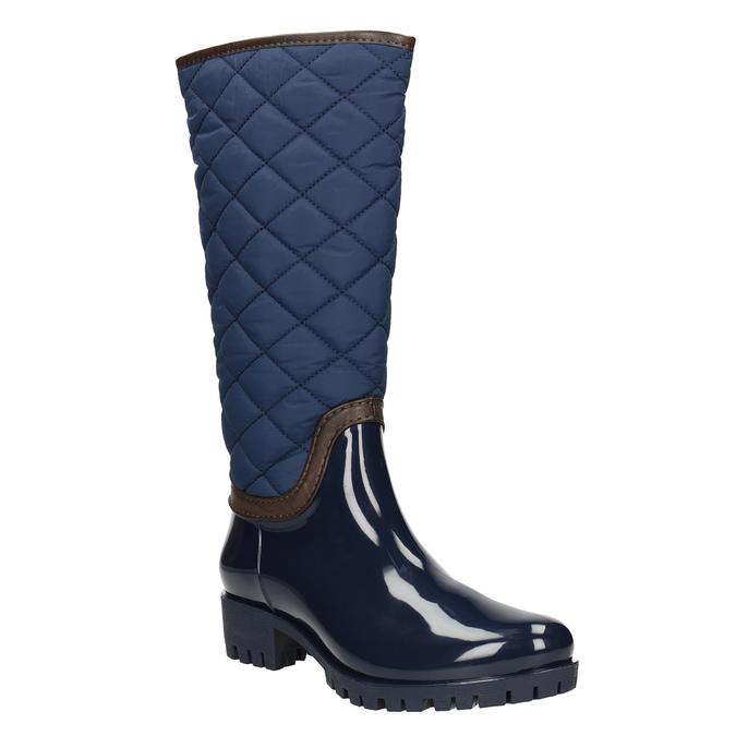 Modré dámské holínky bata, modrá, 592-9402 - 13