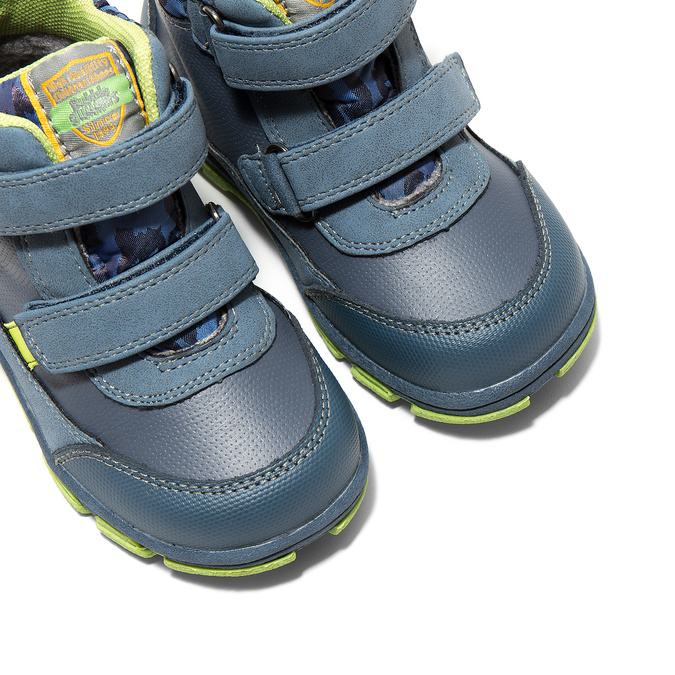 Kotníčková dětská obuv bubblegummers, modrá, 111-9623 - 14