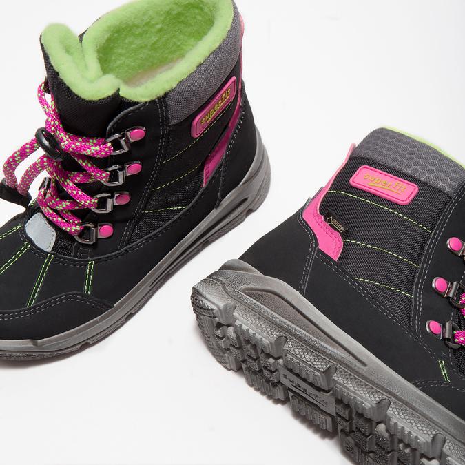 Dětská zimní obuv superfit, černá, 399-6029 - 14