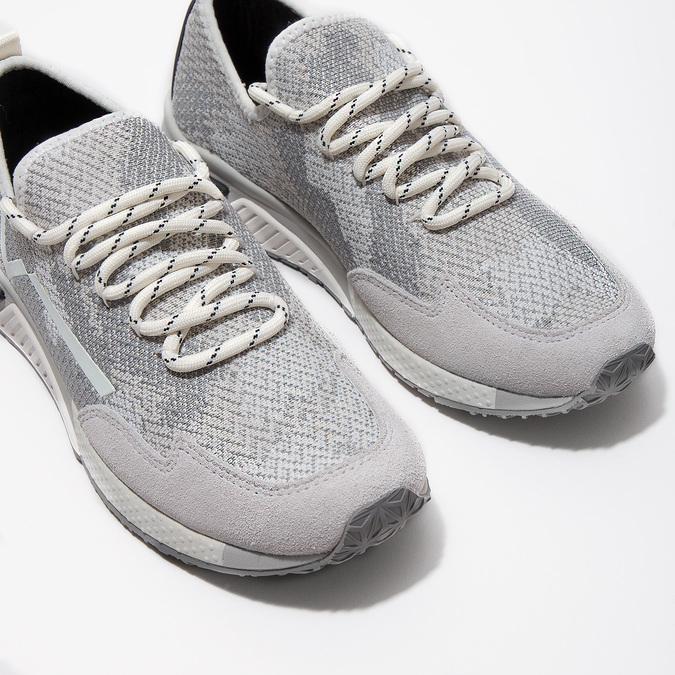 Sportovní dámské tenisky diesel, šedá, 509-1760 - 14
