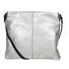 Stříbrná kožená Crossbody kabelka bata, stříbrná, 963-1192 - 16