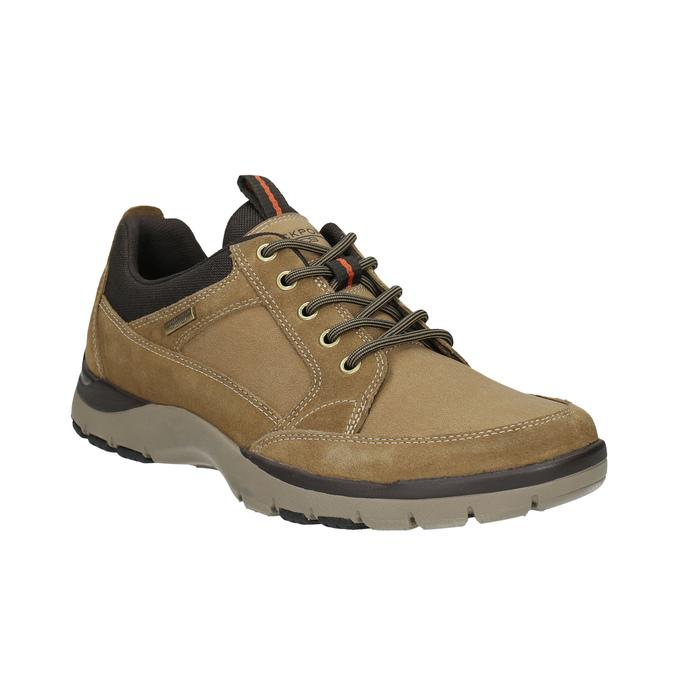 Pánská kožená obuv rockport, hnědá, 826-3024 - 13