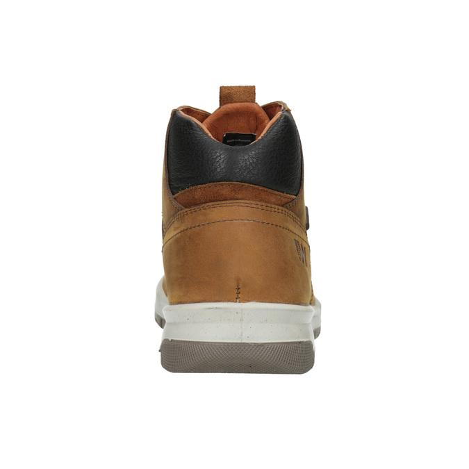 Kožená pánská kotníčková obuv weinbrenner, hnědá, 896-3701 - 16