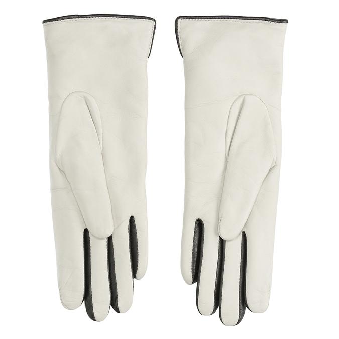 Kožené rukavice junek, hnědá, 924-4017 - 16