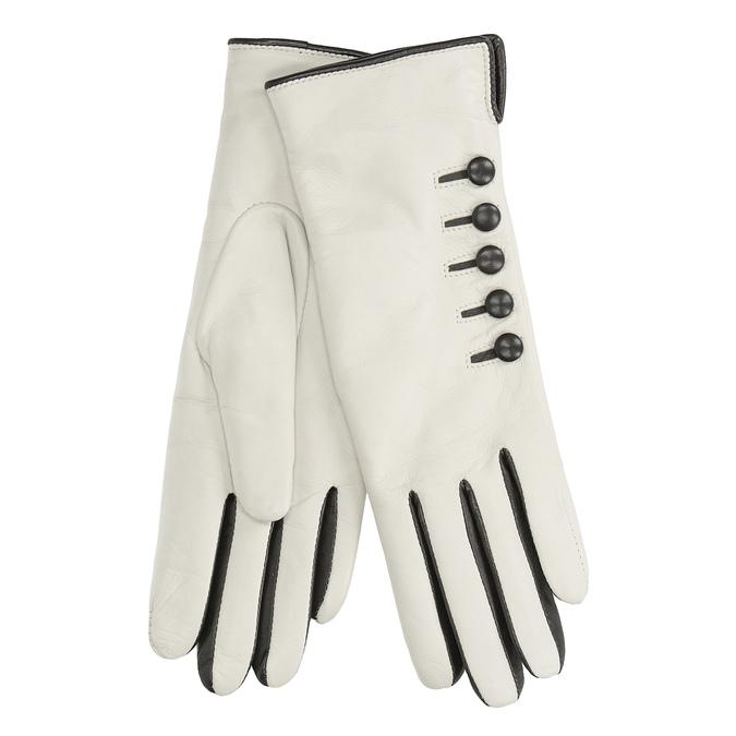Kožené rukavice junek, hnědá, 924-4017 - 13